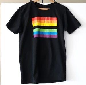 Black Matter Rainbow LGBTQ Pride T-shirt